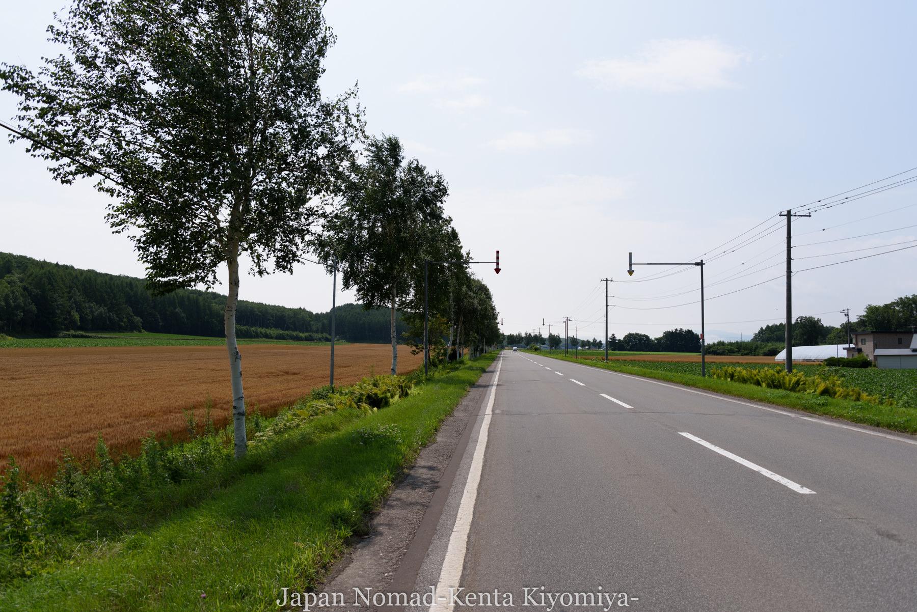自転車日本一周96日目(美幌峠)-Japan Nomad (7)