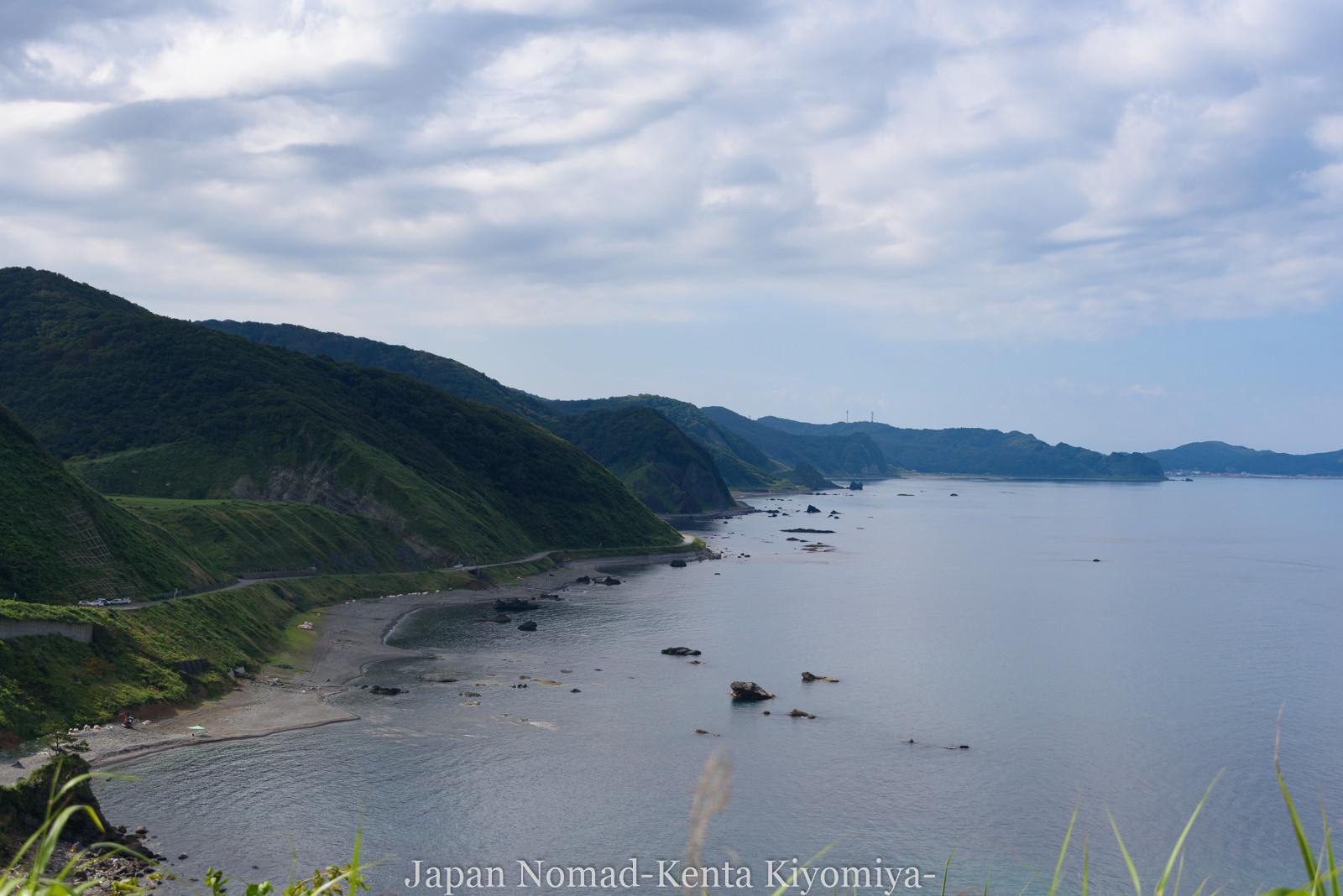 自転車日本一周(十三湖、しじみラーメン)-Japan Nomad (11)