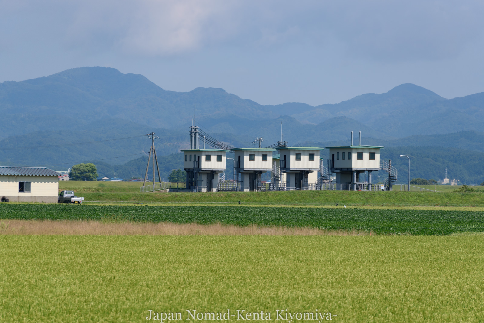 自転車日本一周(十三湖、しじみラーメン)-Japan Nomad (24)