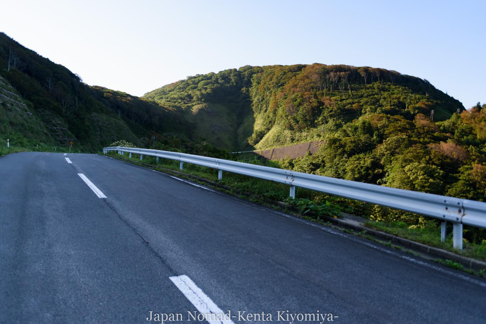 自転車日本一周(十三湖、しじみラーメン)-Japan Nomad (6)