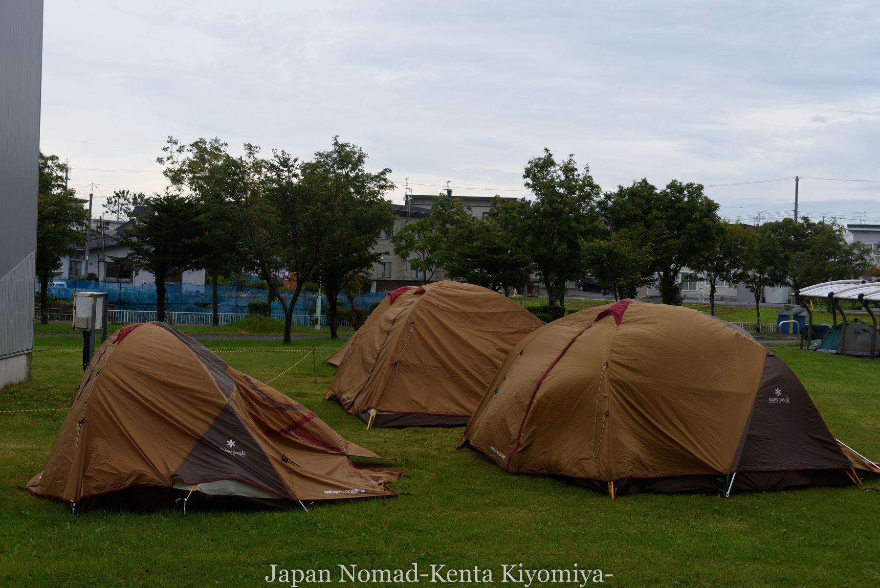 自転車日本一周105日目(マルトマ食堂)-Japan Nomad (2)