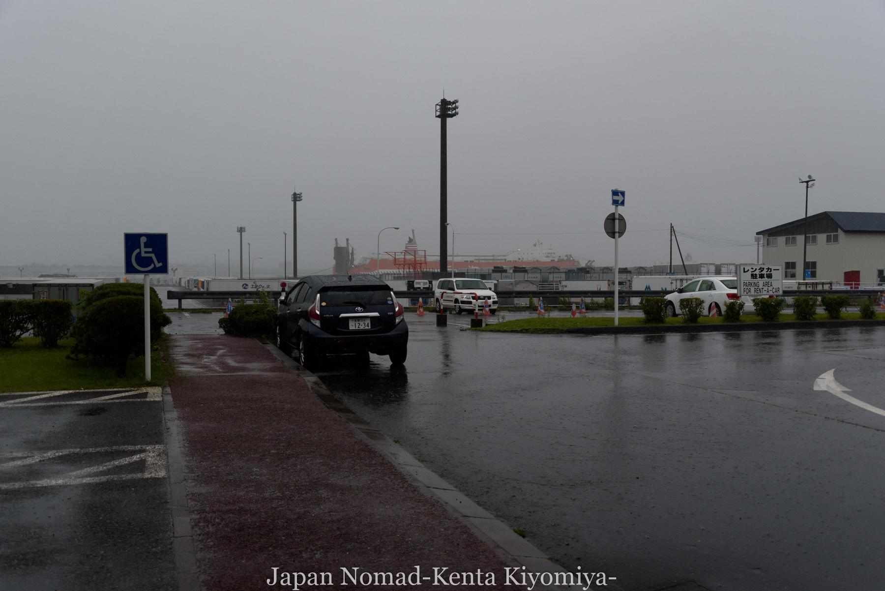 自転車日本一周113日目(苫小牧停滞)-Japan Nomad (1)
