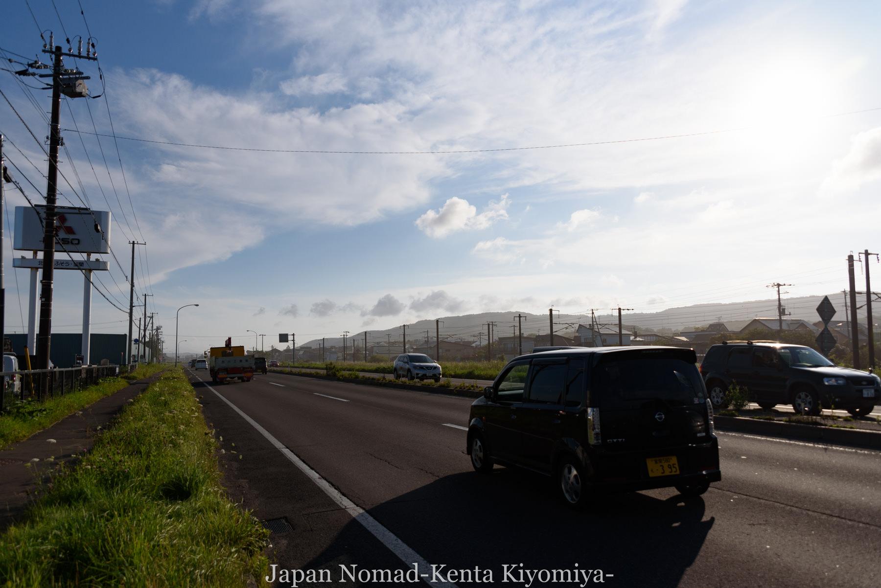 自転車日本一周114日目(地球岬、室蘭工場夜景)-Japan Nomad (10)