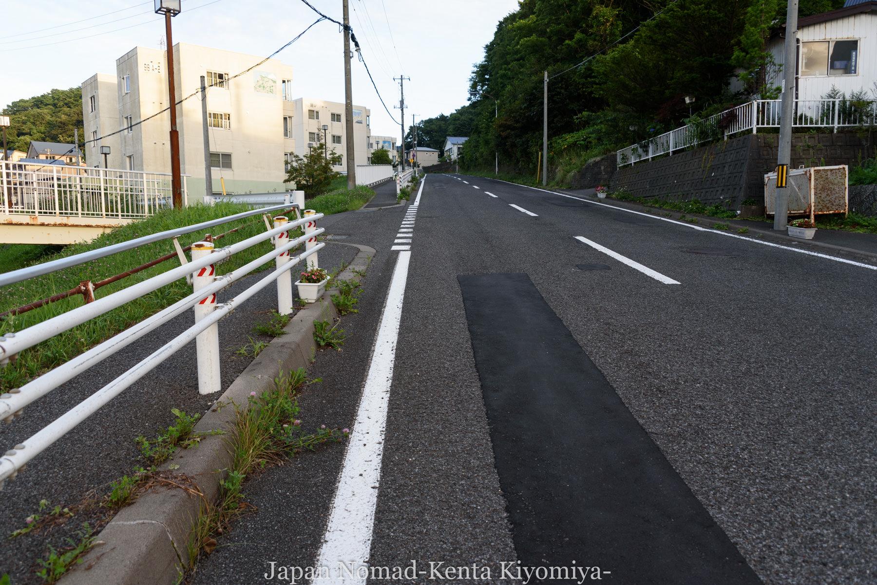 自転車日本一周114日目(地球岬、室蘭工場夜景)-Japan Nomad (12)