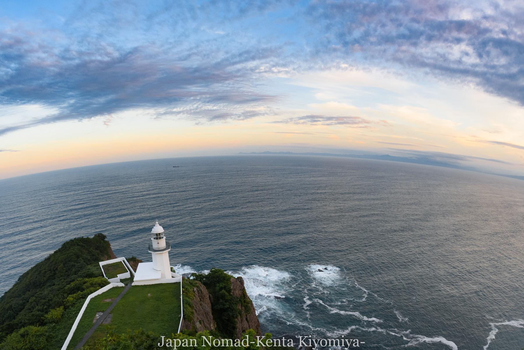 自転車日本一周114日目(地球岬、室蘭工場夜景)-Japan Nomad (23)