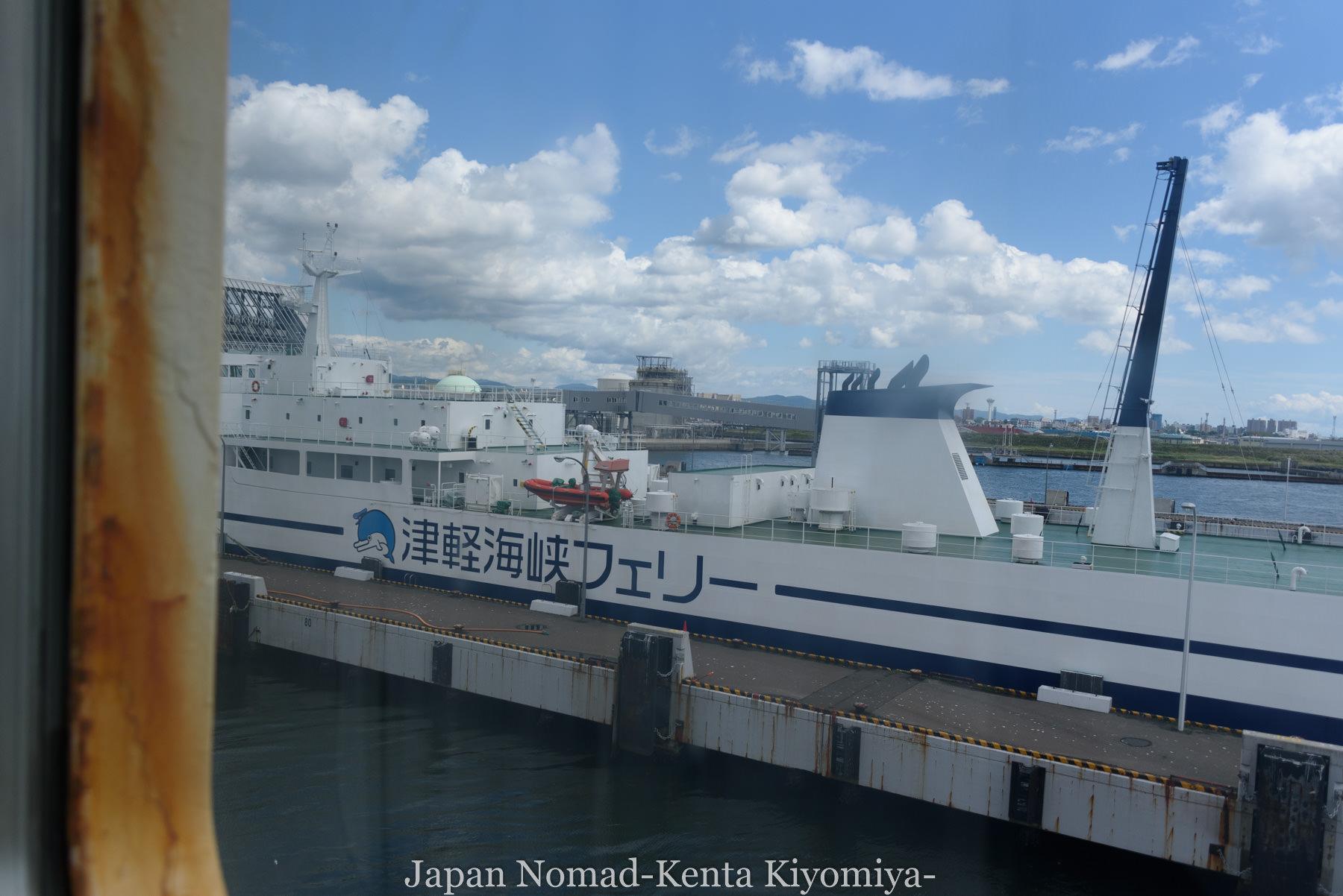 自転車日本一周119日目(さらば北海道)-Japan Nomad (4)