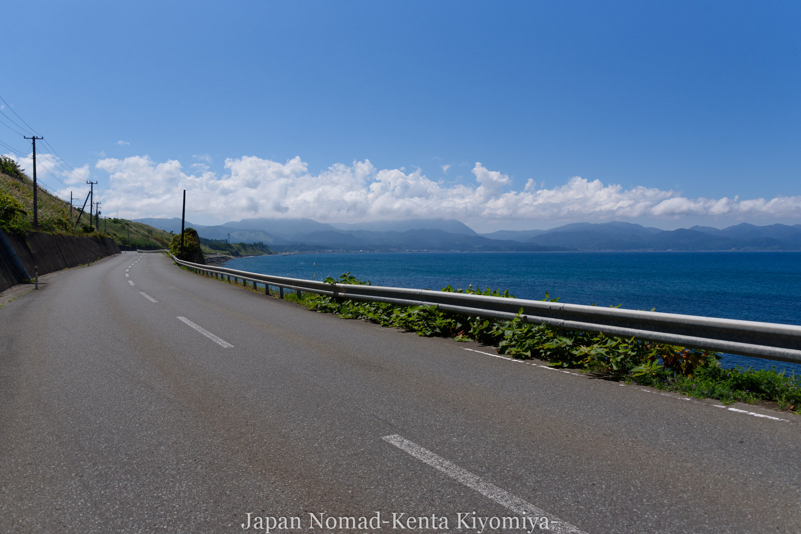 自転車日本一周120日目(竜飛崎)-Japan Nomad (20)