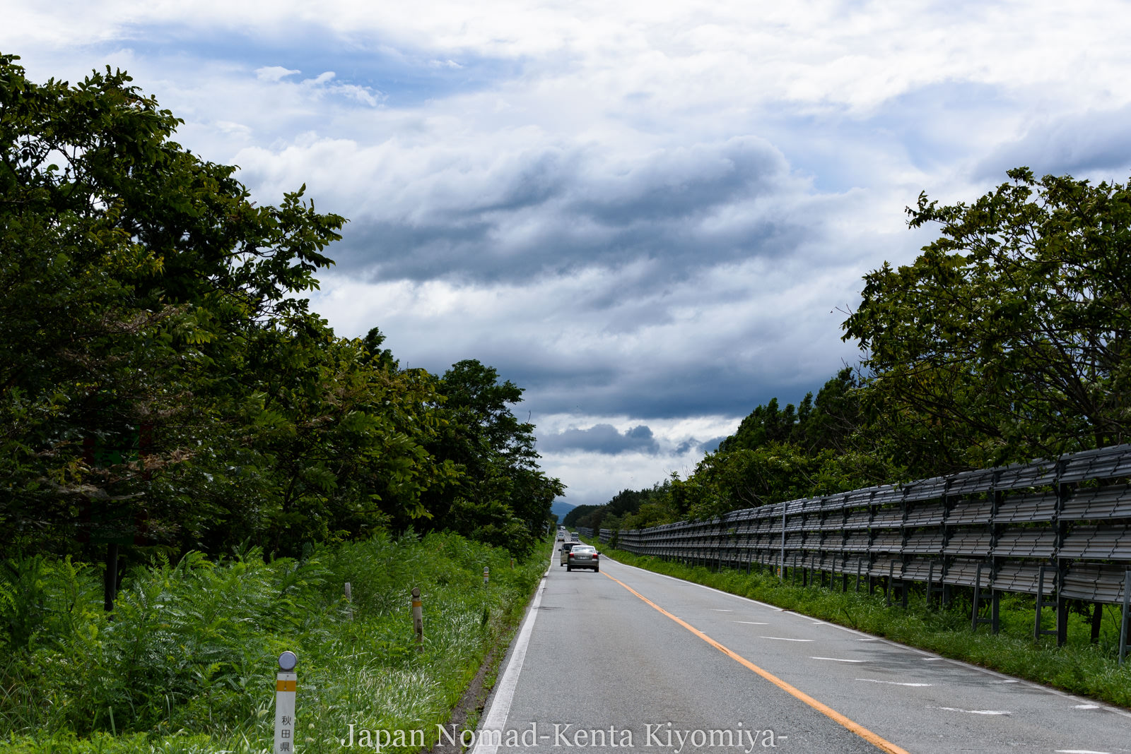 自転車日本一周126日目(台風10合)-Japan Nomad (22)