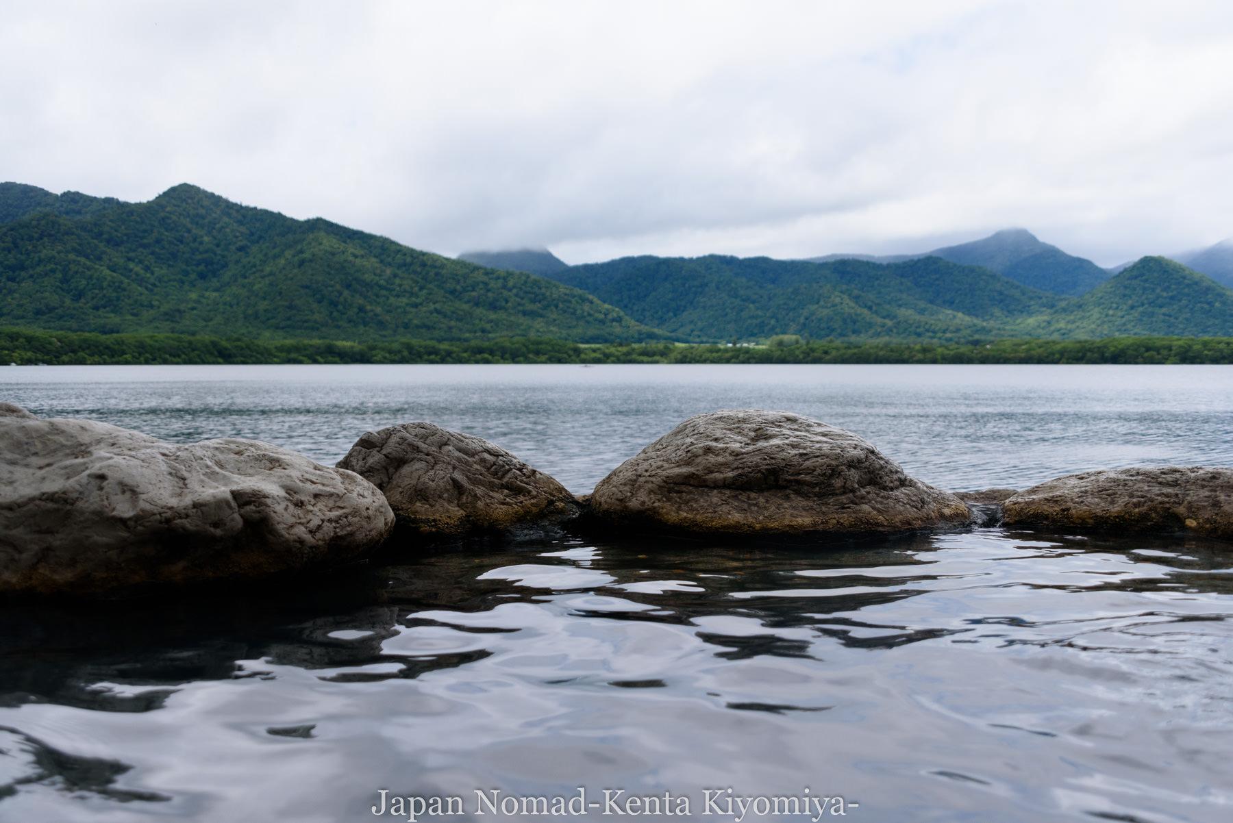 自転車日本一周97日目(コタンの湯)-Japan Nomad (32)