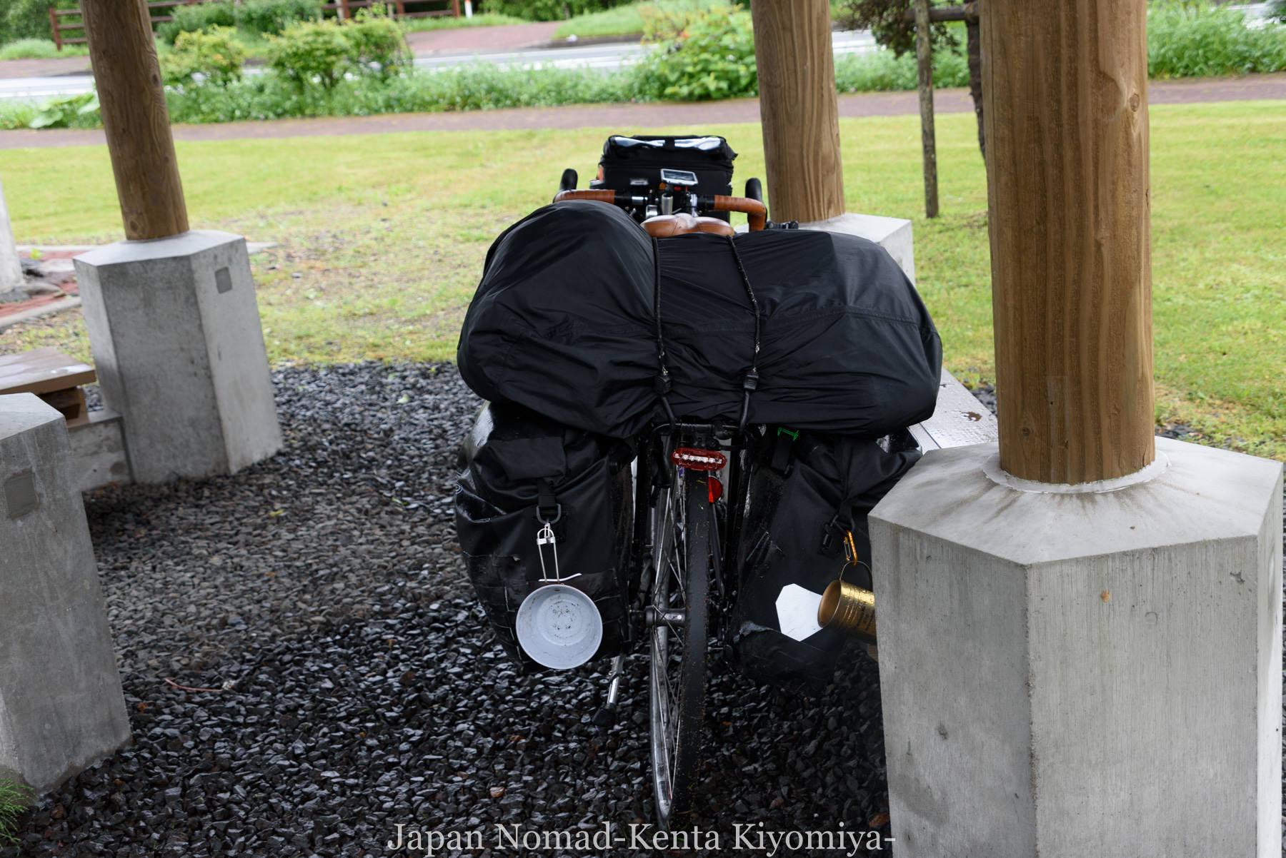 自転車日本一周98日目(阿寒湖、アイヌコタン、まりも)-Japan Nomad (2)