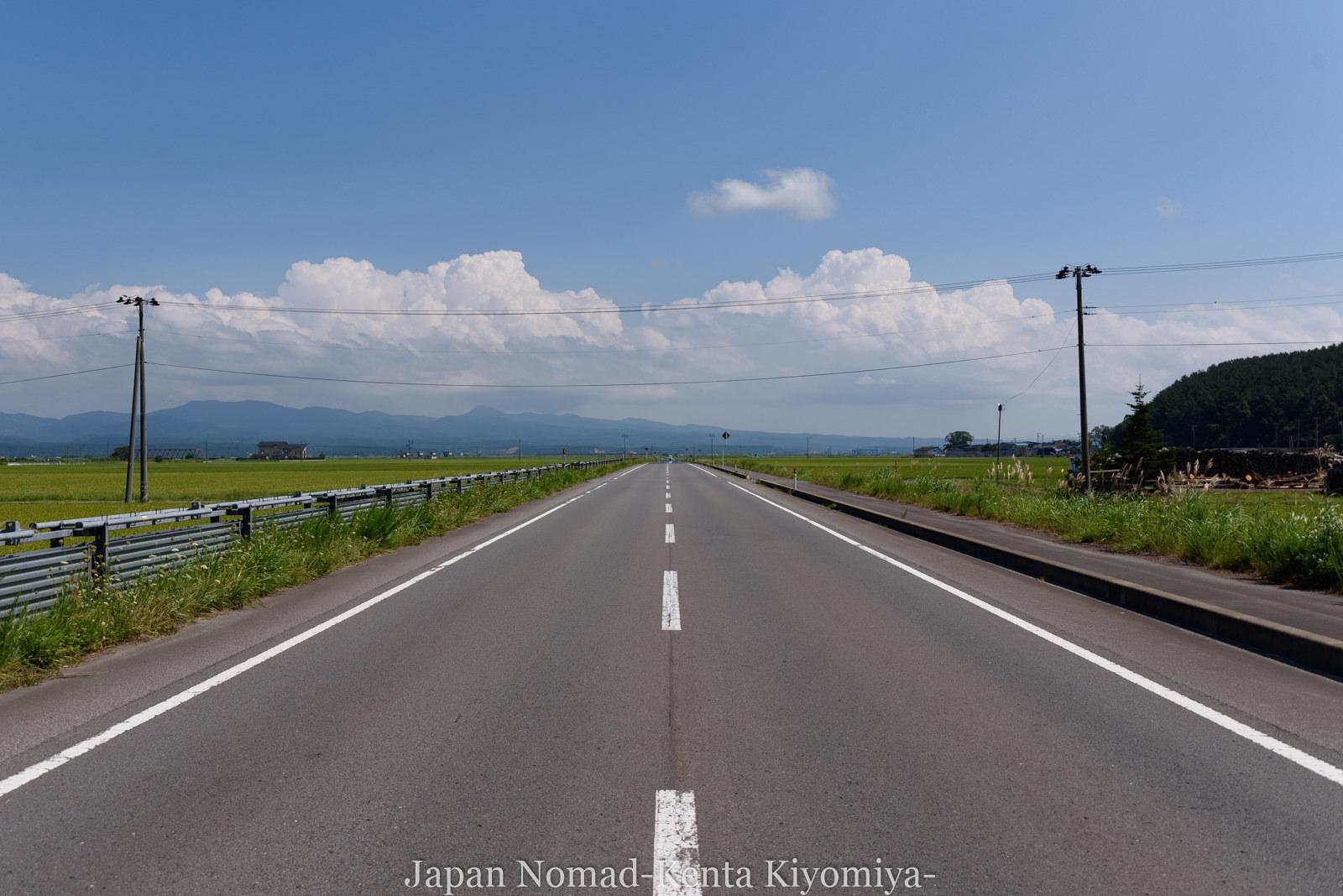 自転車日本一周(十三湖、しじみラーメン)-Japan Nomad (22)