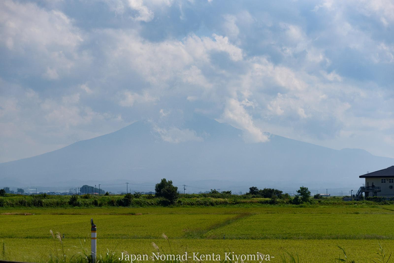 自転車日本一周(十三湖、しじみラーメン)-Japan Nomad (27)