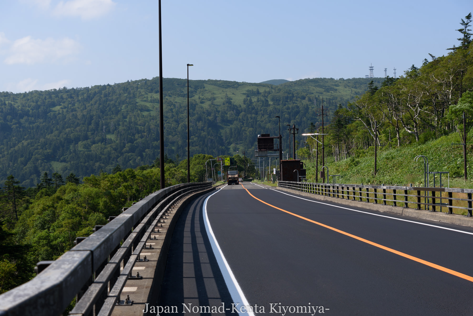 自転車日本一周(日勝峠)-Japan Nomad (28)