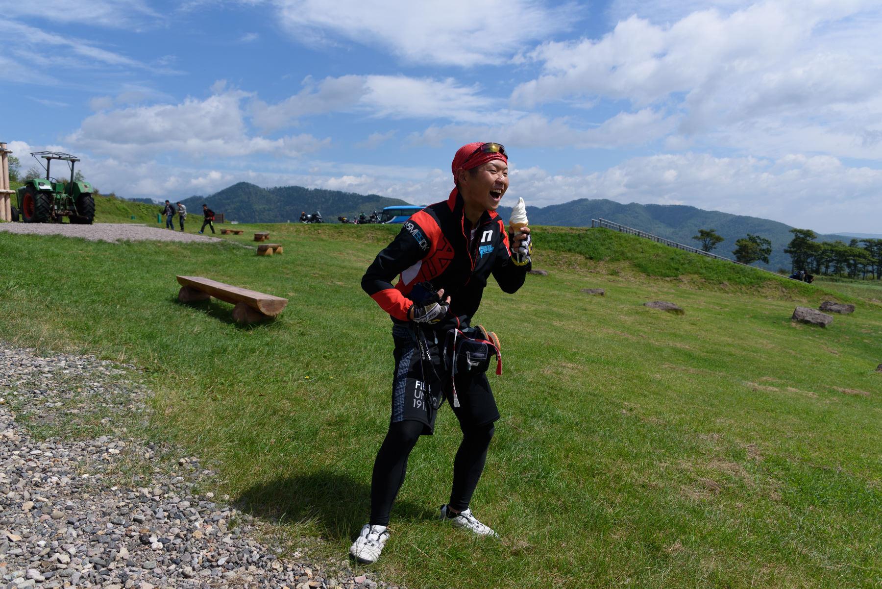 自転車日本一周101日目(ナイタイ高原牧場)-Japan Nomad (19)