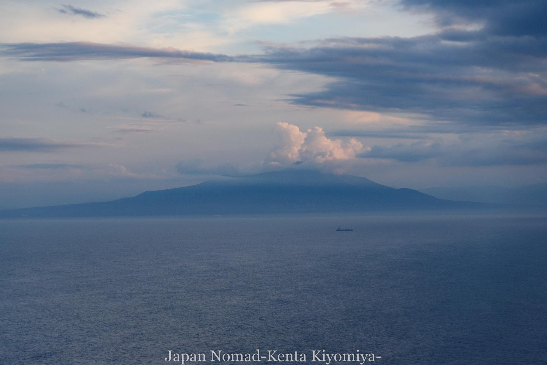 自転車日本一周114日目(地球岬、室蘭工場夜景)-Japan Nomad (14)