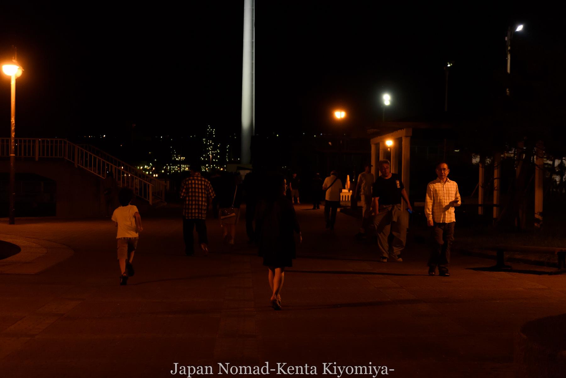 自転車日本一周114日目(地球岬、室蘭工場夜景)-Japan Nomad (20)