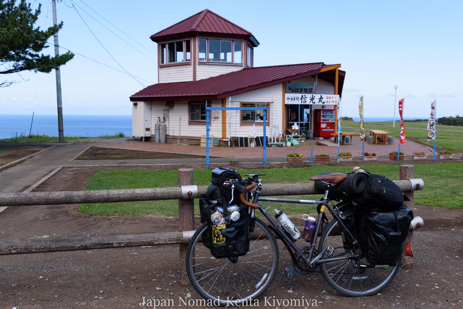 自転車日本一周120日目(竜飛崎)-Japan Nomad (13)