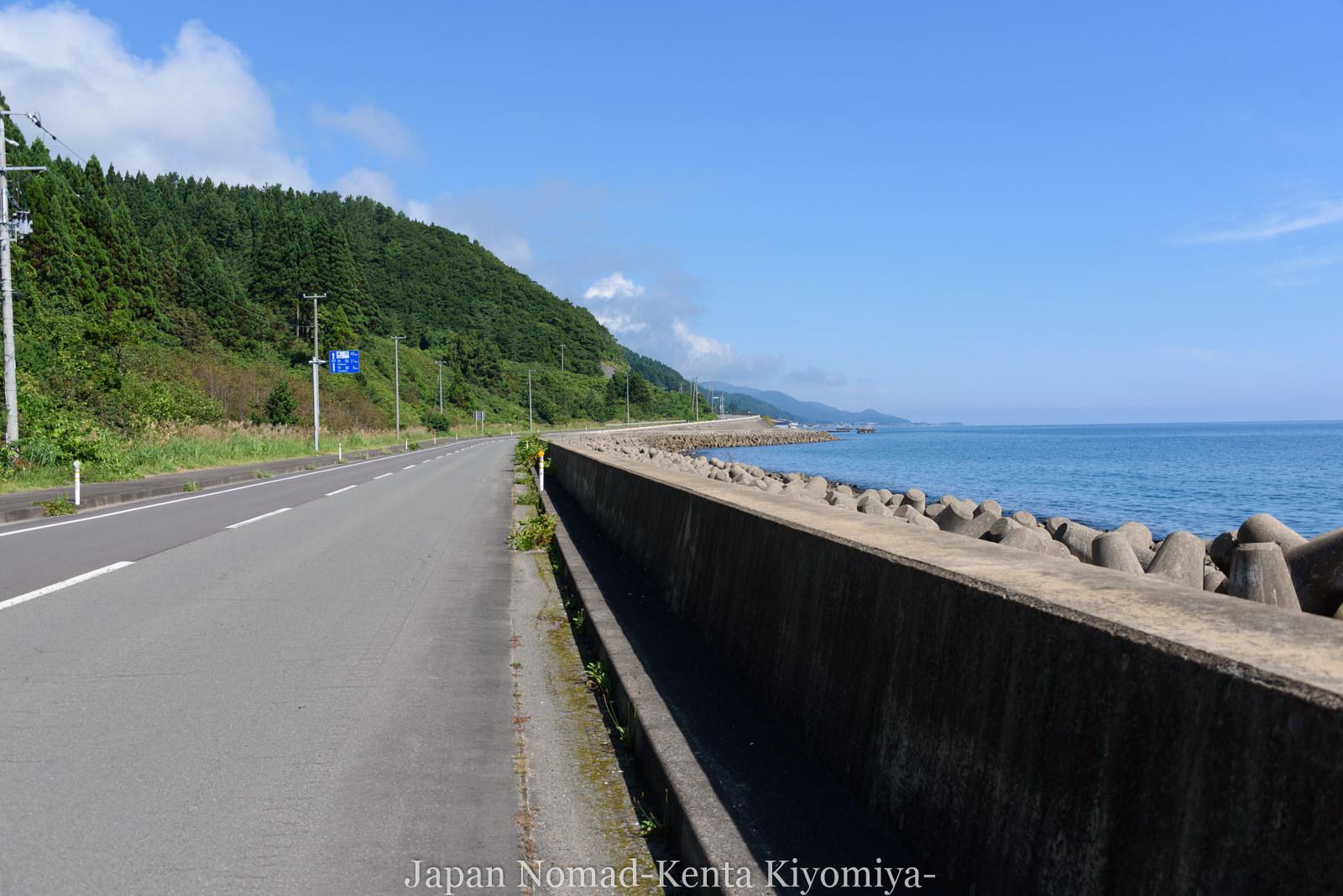 自転車日本一周120日目(竜飛崎)-Japan Nomad (7)