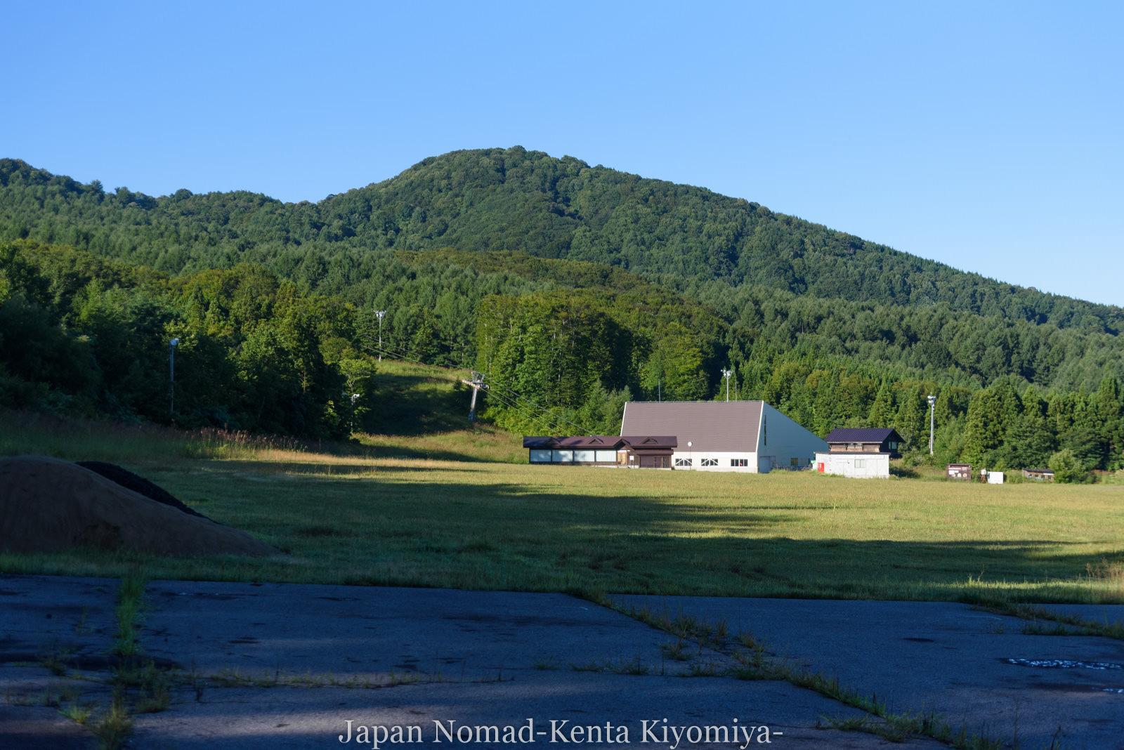 自転車日本一周123日目(岩木山)-Japan Nomad (16)