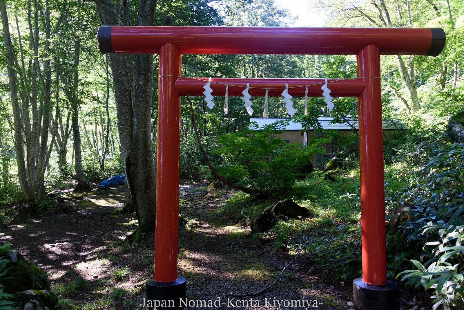 自転車日本一周123日目(岩木山)-Japan Nomad (26)
