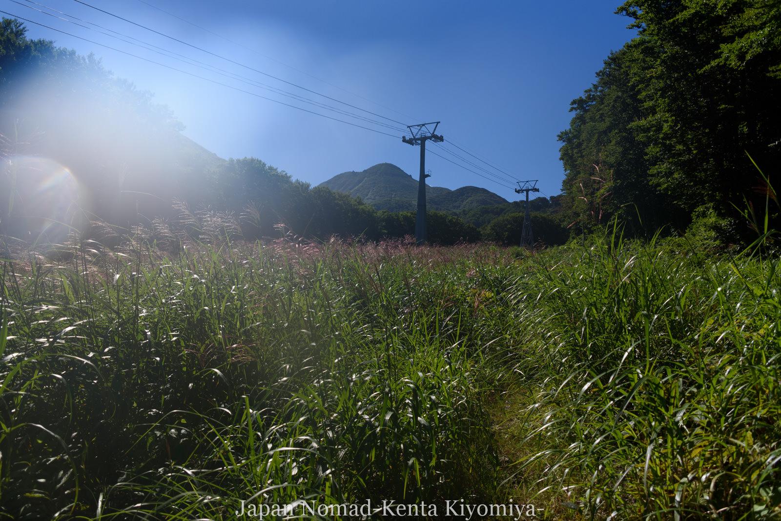 自転車日本一周123日目(岩木山)-Japan Nomad (42)