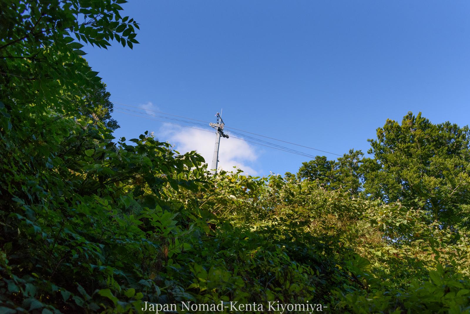 自転車日本一周123日目(岩木山)-Japan Nomad (51)