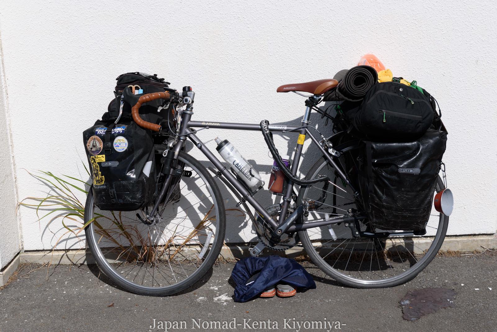自転車日本一周123日目(岩木山)-Japan Nomad (92)