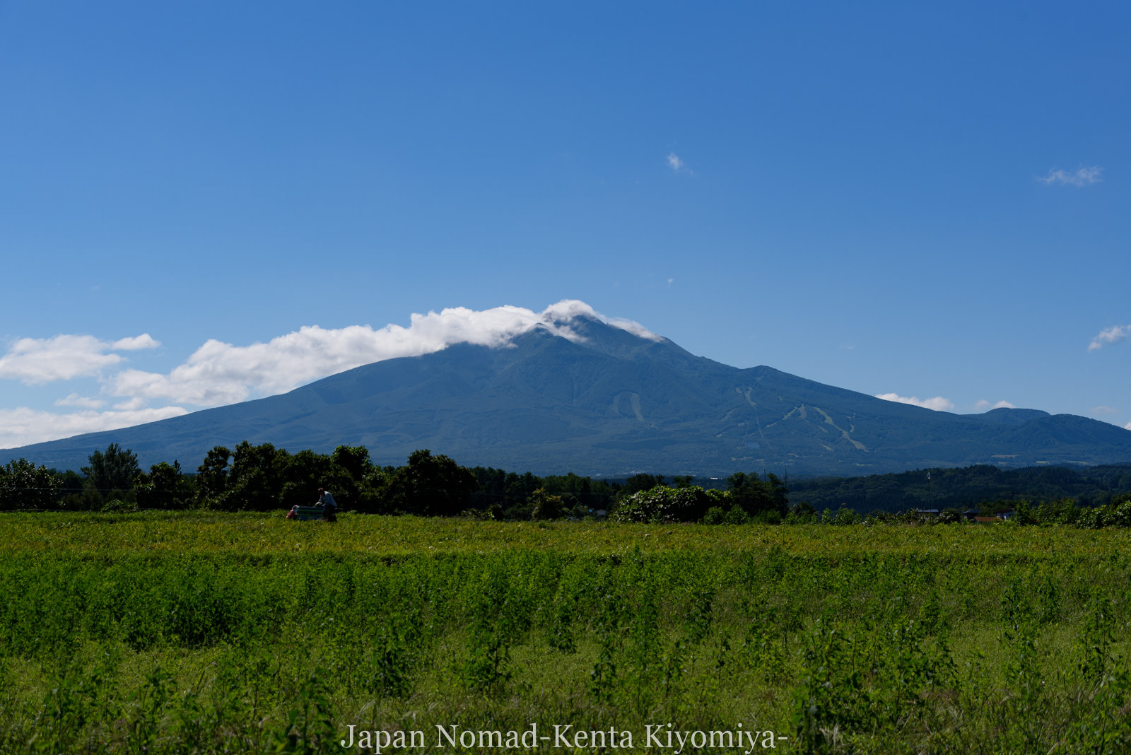 自転車日本一周124日目(不老ふ死温泉)-Japan Nomad (4)