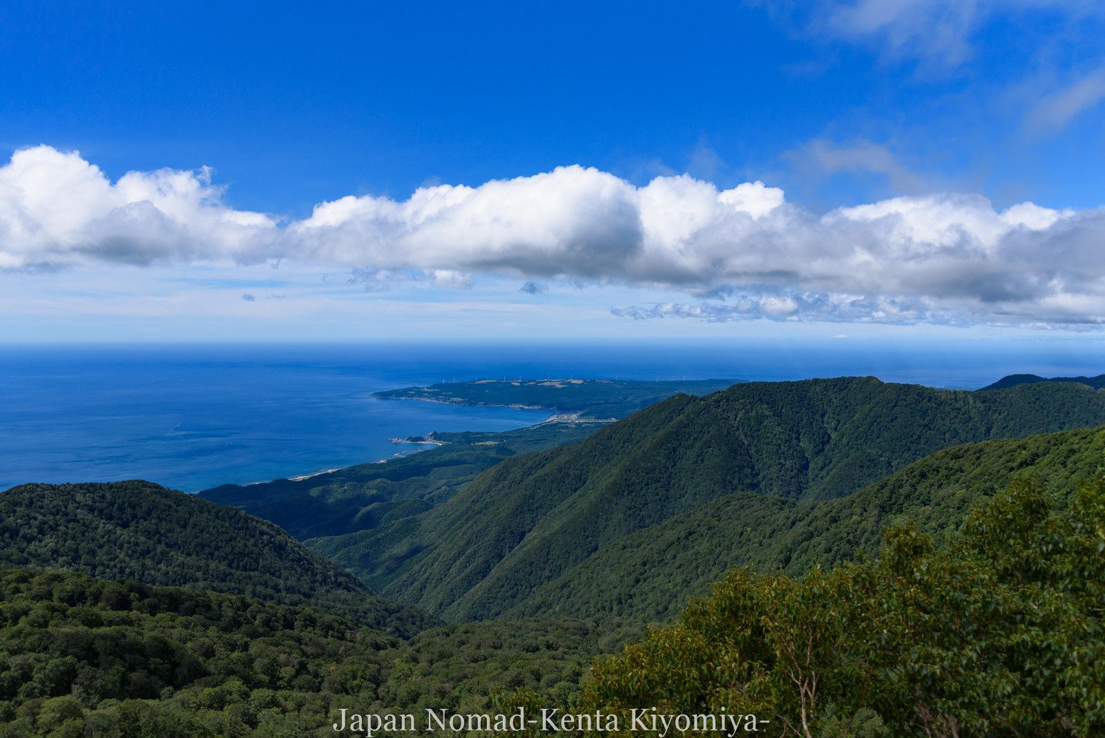 自転車日本一周125日目(白神山地、白神岳)-Japan Nomad (44)