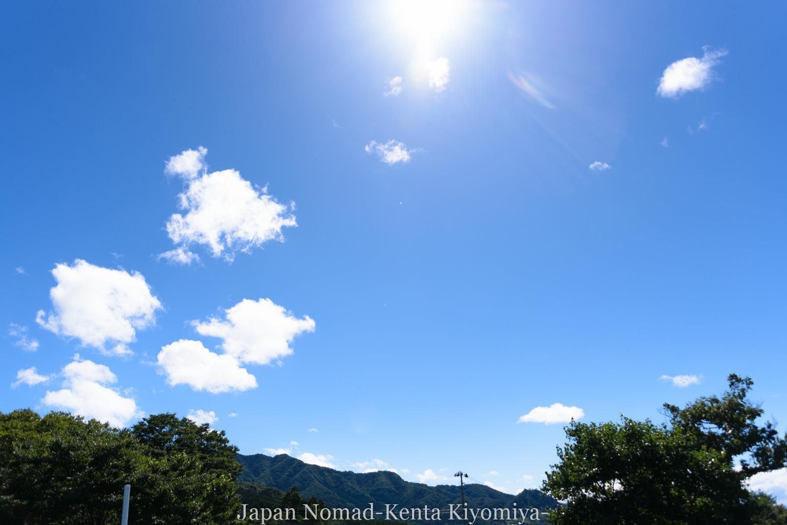 自転車日本一周126日目(台風10合)-Japan Nomad (10)