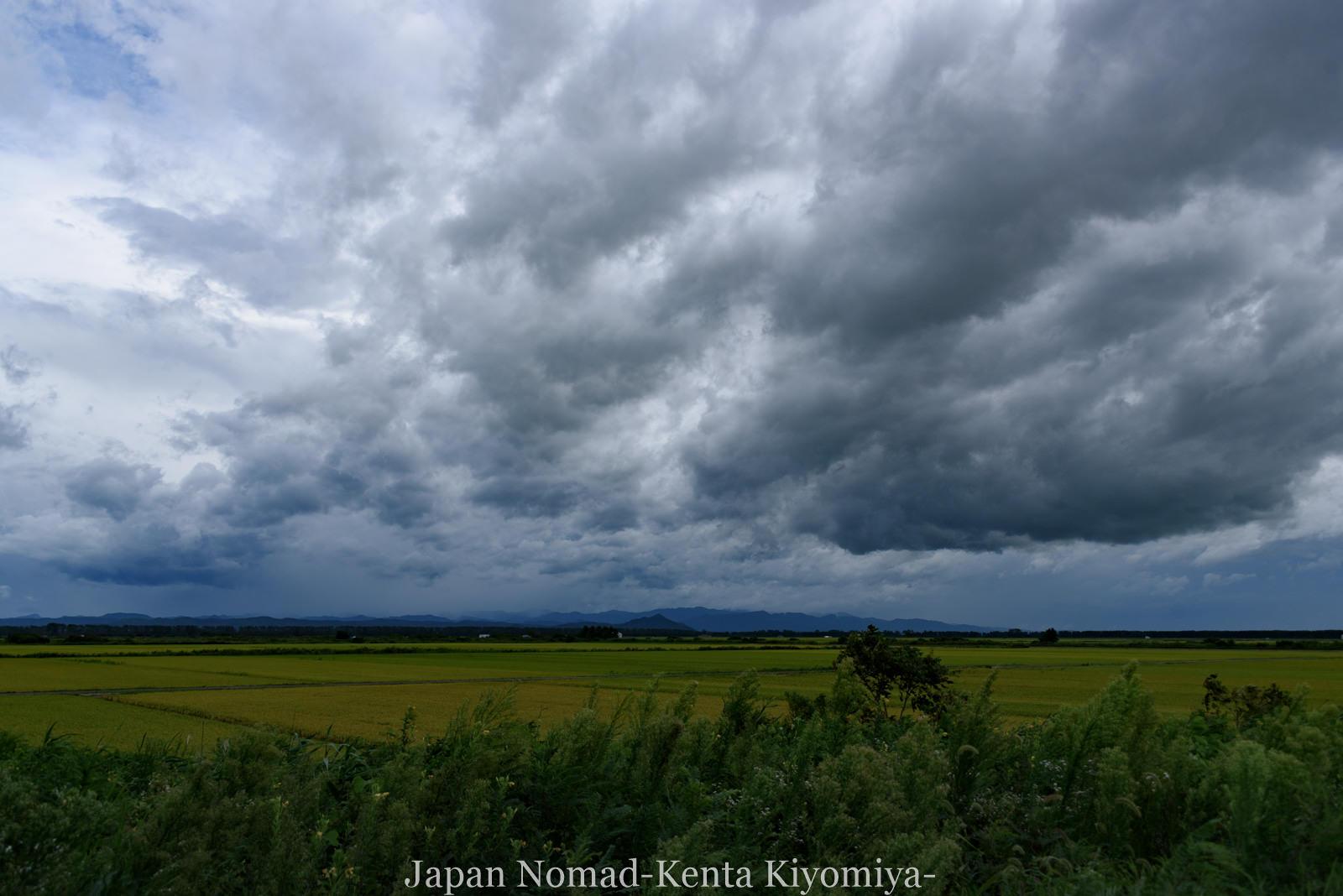 自転車日本一周126日目(台風10合)-Japan Nomad (23)