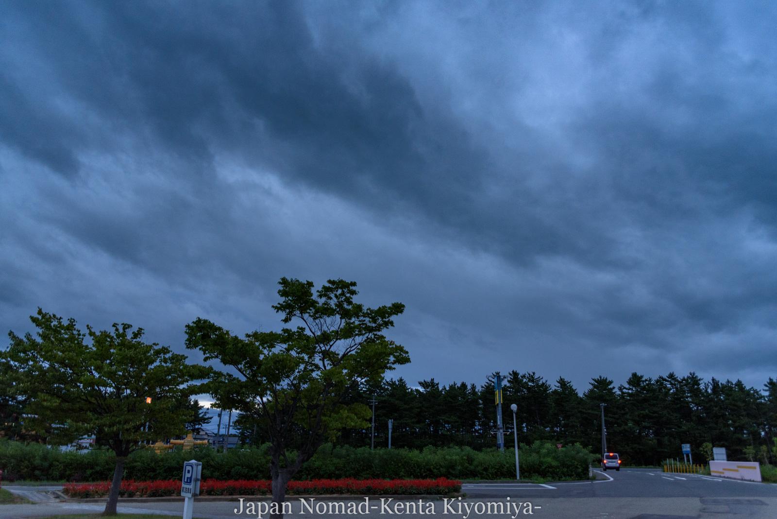 自転車日本一周126日目(台風10合)-Japan Nomad (32)