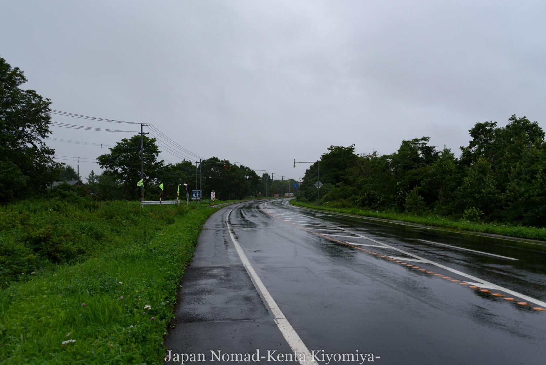自転車日本一周97日目(コタンの湯)-Japan Nomad (39)