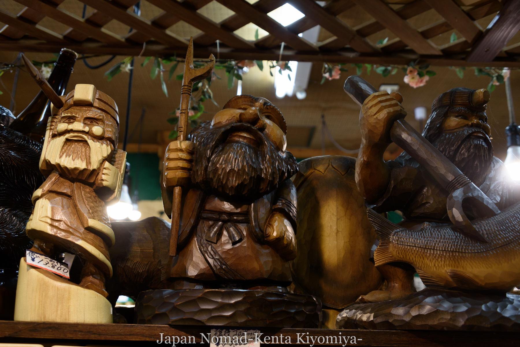 自転車日本一周98日目(阿寒湖、アイヌコタン、まりも)-Japan Nomad (18)