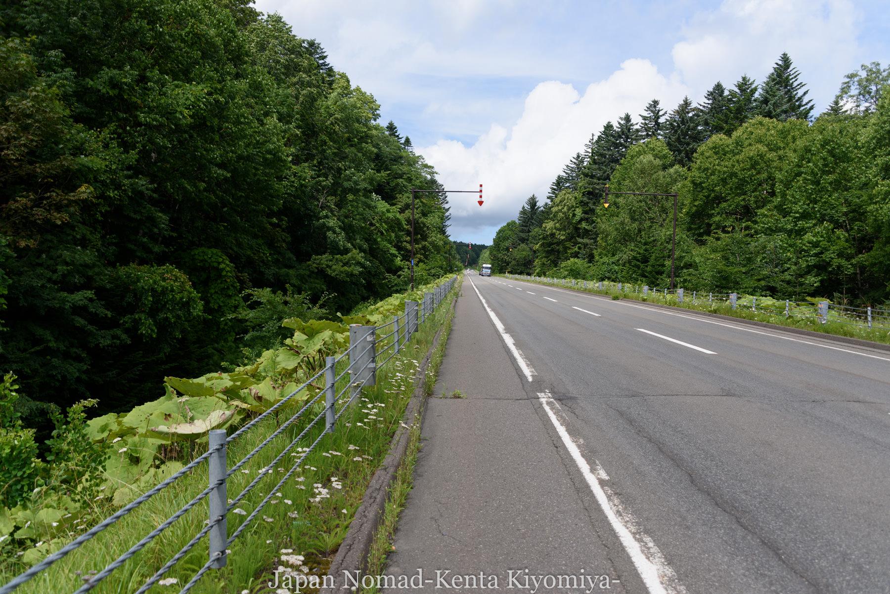 自転車日本一周99日目(オンネトー、雌阿寒岳)-Japan Nomad (2)