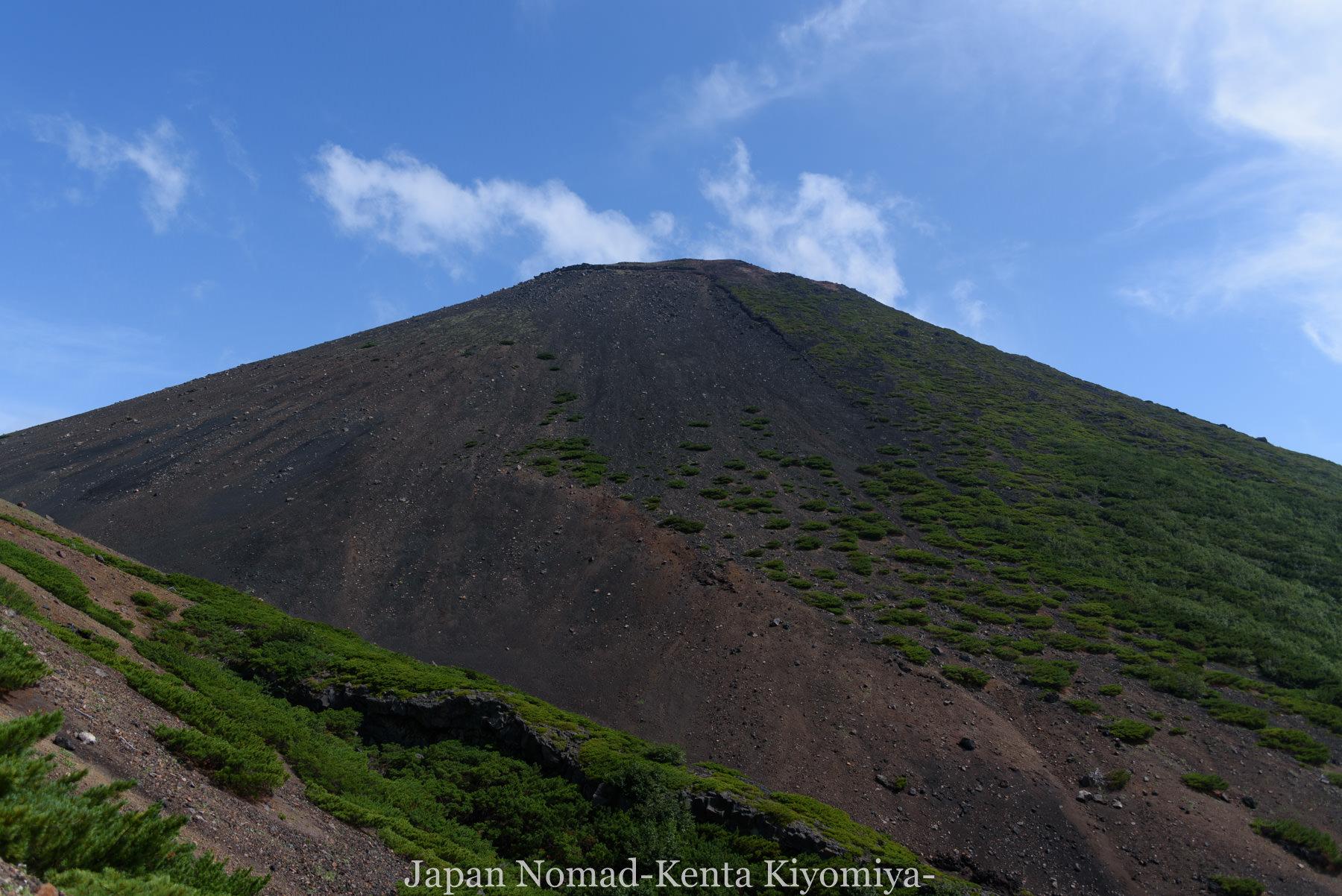 自転車日本一周99日目(オンネトー、雌阿寒岳)-Japan Nomad (22)