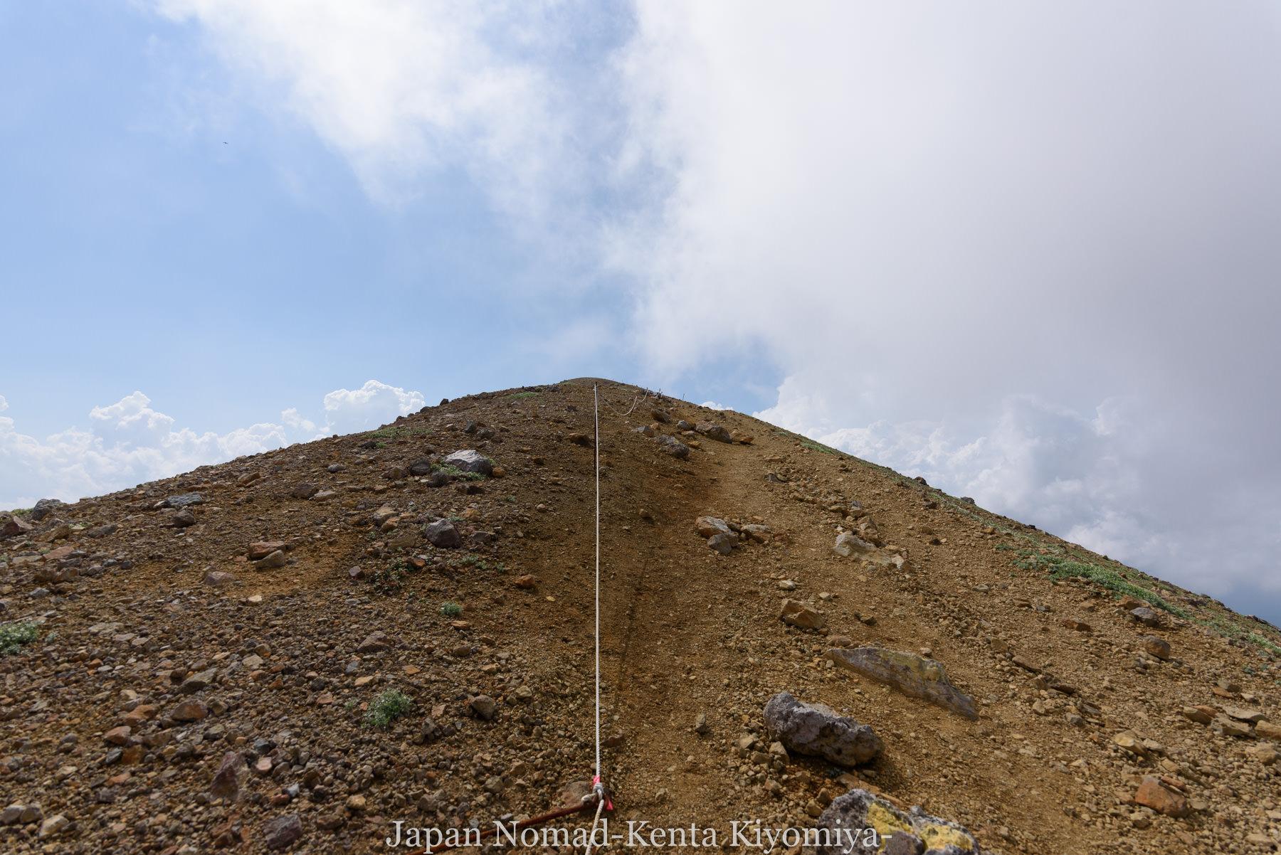 自転車日本一周99日目(オンネトー、雌阿寒岳)-Japan Nomad (29)