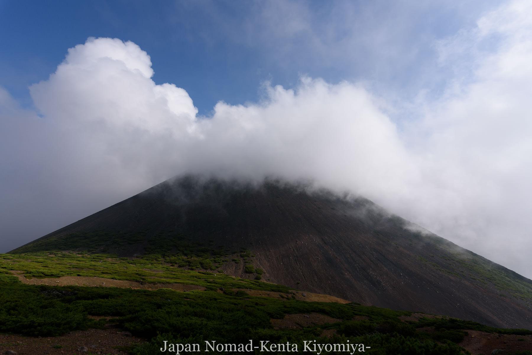 自転車日本一周99日目(オンネトー、雌阿寒岳)-Japan Nomad (43)