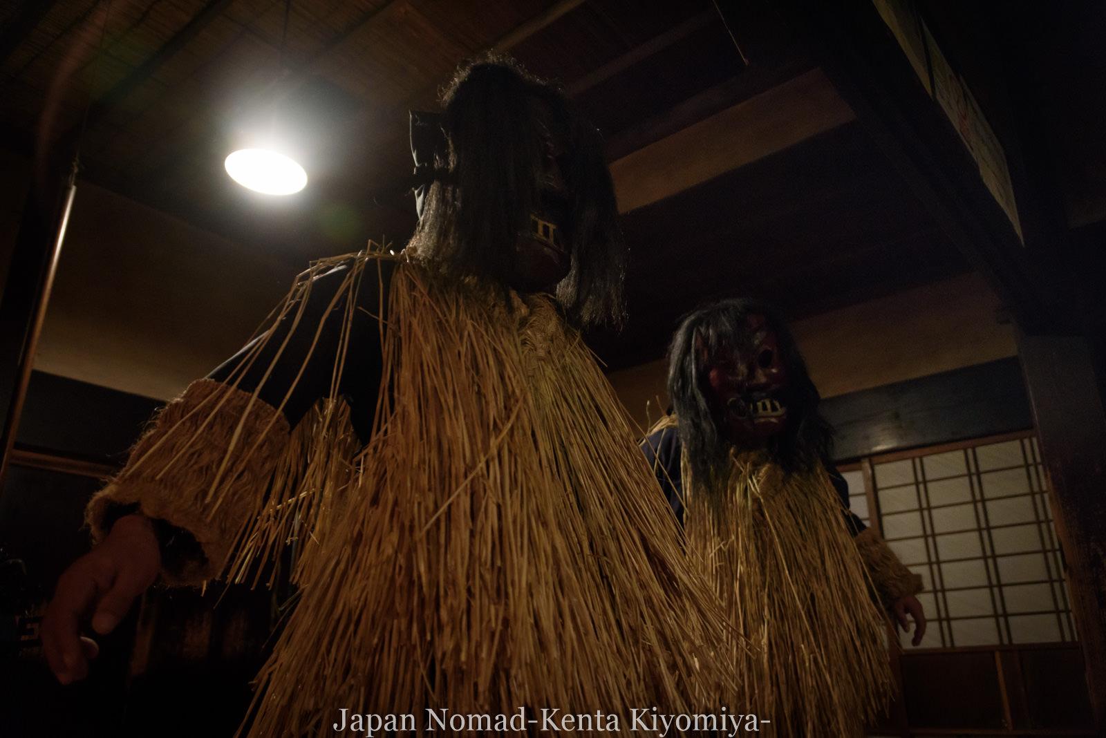 自転車日本一周127日目(なまはげ、ハタハタ丼、寒風山、男鹿半島)-Japan Nomad (18)