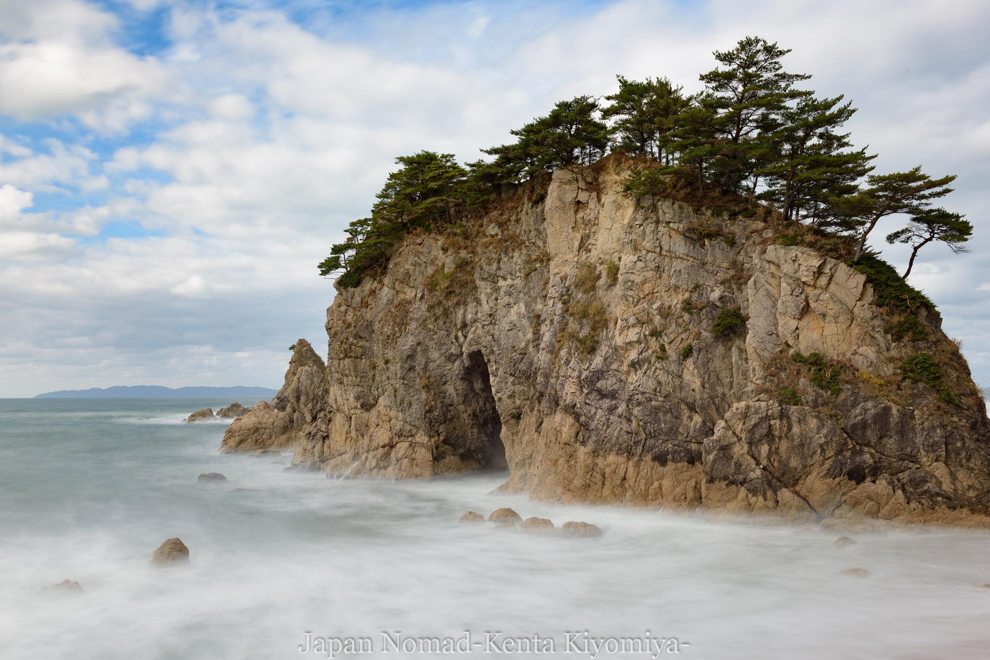 【旅133日目】5,000km突破して新潟県へ突入!笹川流れの海岸美を取りながら日本か意をなんか