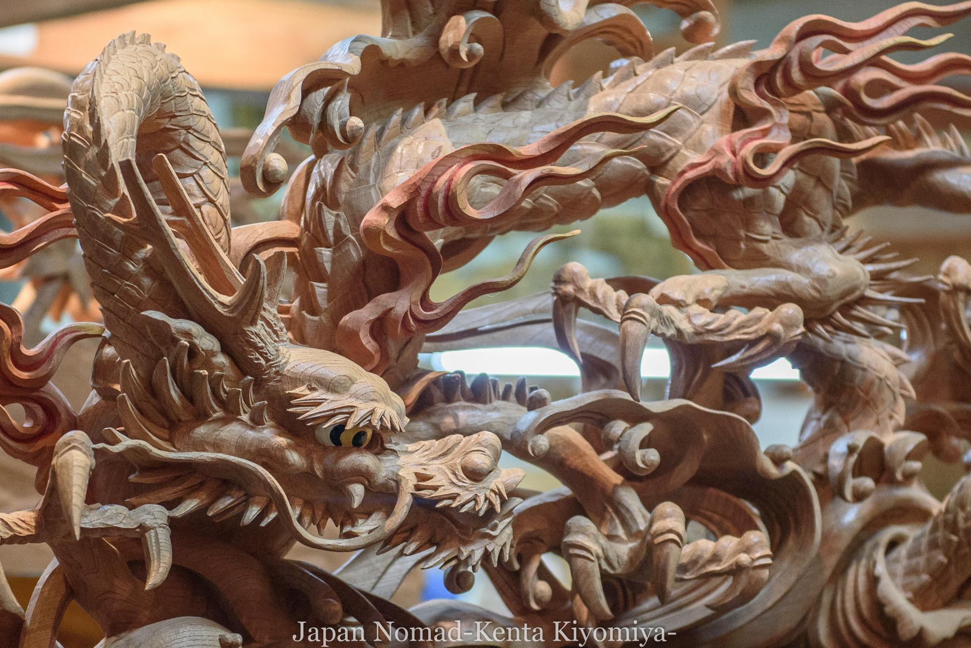 【旅146日目】日本一の木彫りの里で井波彫刻と瑞泉寺を見学してきました