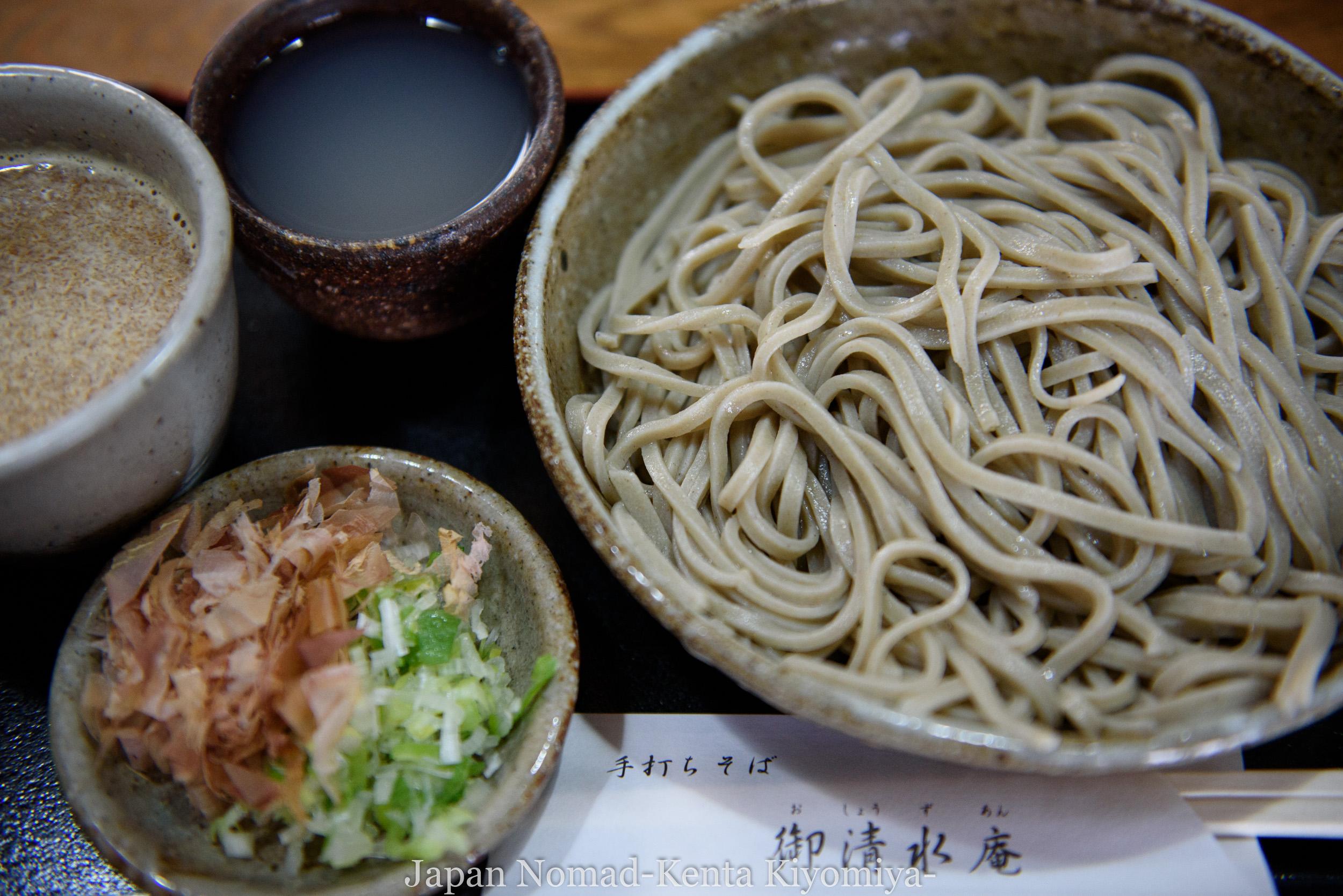 【旅154日目】越前市でお美味しい蕎麦が食べたきゃここへ行け!「御清水庵」のおろし蕎麦