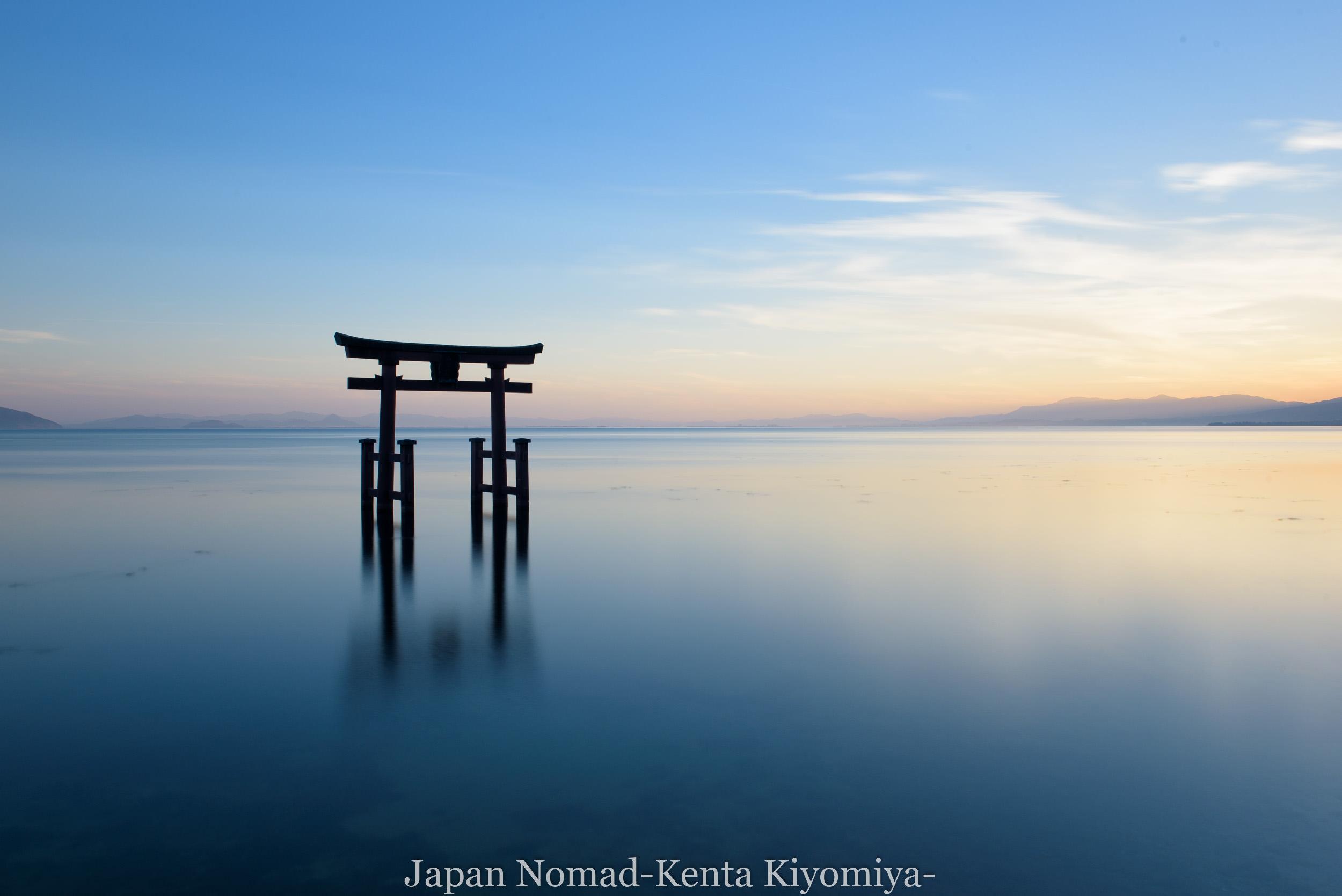 【旅157日目】琵琶湖の厳島神社こと、白髭神社を撮ってきた!