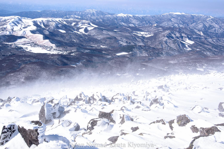 【北八ヶ岳】蓼科山 雪山登山~広い山頂から八ヶ岳を眺める厳冬期百名山~