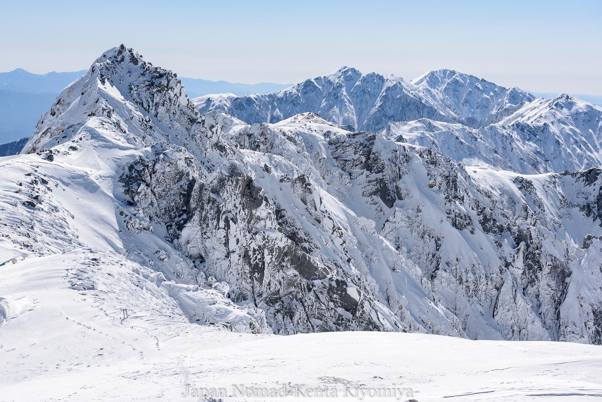 【中央アルプス】木曽駒ケ岳 雪山登山~絶景を約束された白銀の千畳敷カール~