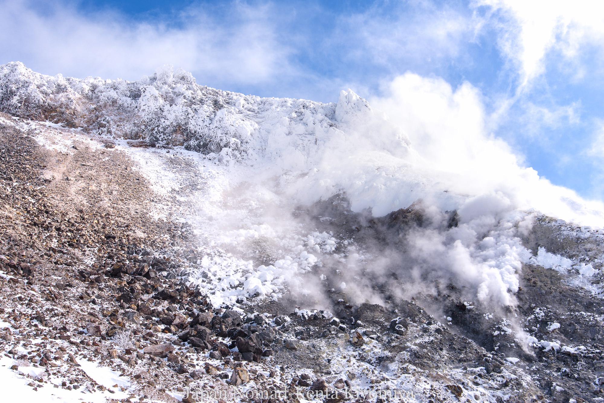 【那須連山】茶臼岳 雪山登山~那須岳冬の風物詩を満喫した強風登山~
