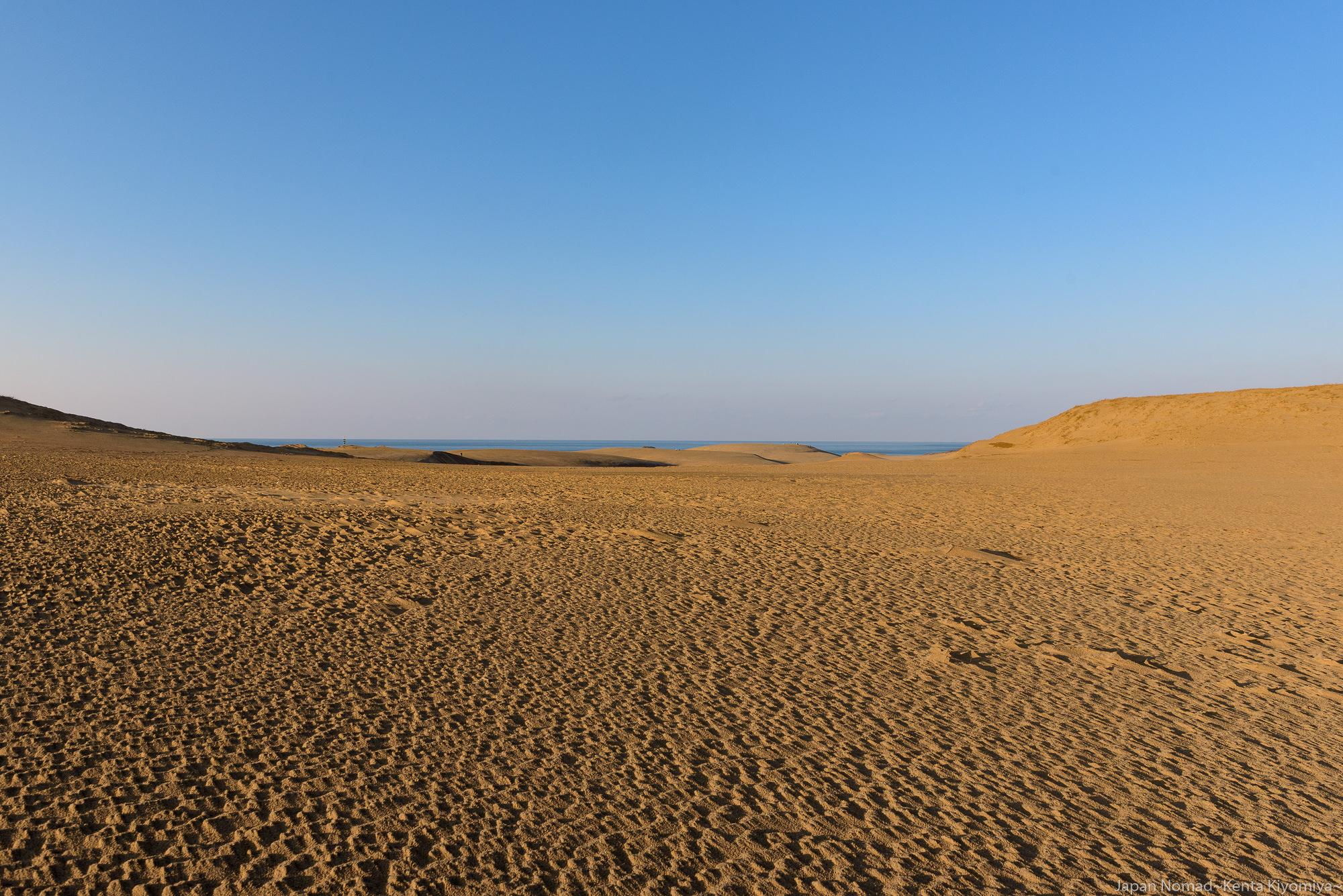 【旅168日目】鳥取砂丘の夕景