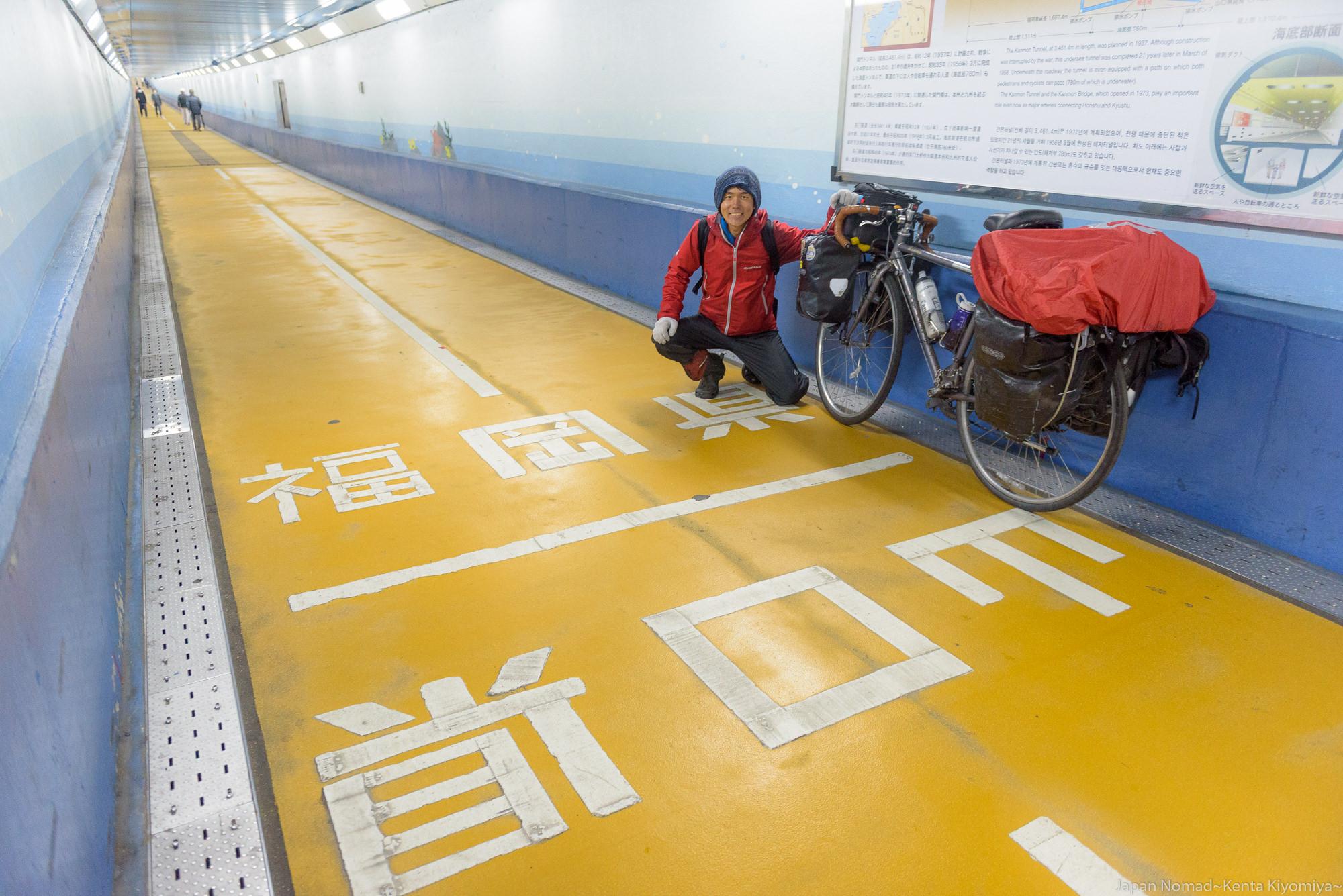 【旅182日目】自転車ごと海中を越えて…行くぜ!九州!