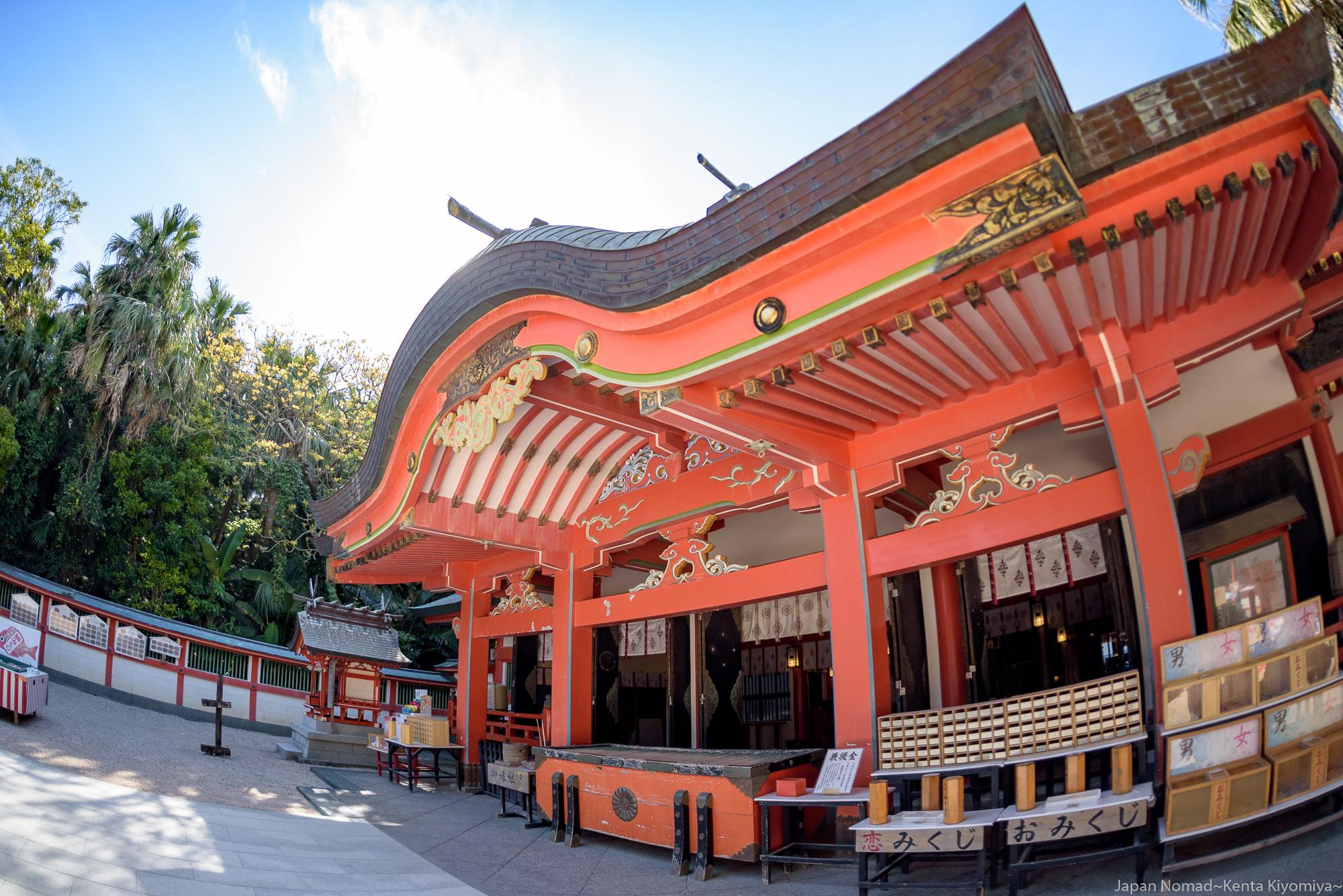 【旅201日目】南国に建つ青島神社と日本神話