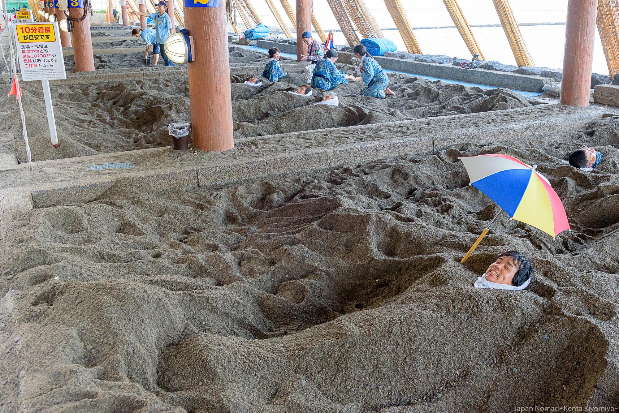 【旅223日目】屋久島から帰還!指宿と言ったら「砂むし温泉」へ